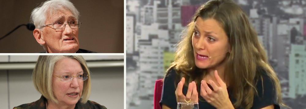 Intelectuais estrangeiros criticam 'golpe branco'