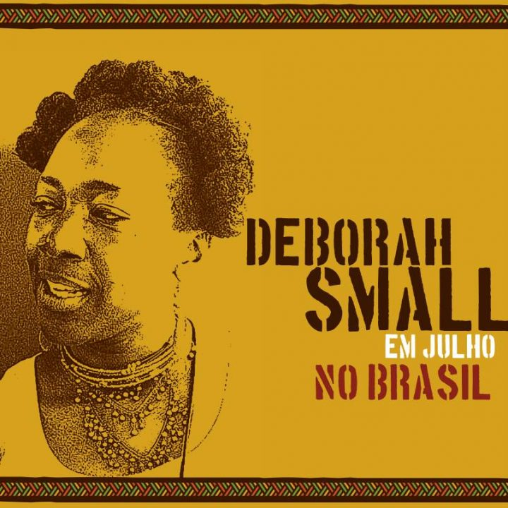 Deborah Small, ativista negra norte-americana, participa de eventos em São Paulo