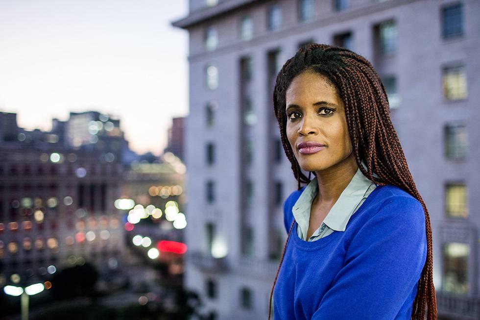 Djamila Ribeiro, mestre em filosofia política, ativista feminista e secretária-adjunta de Direitos Humanos de São Paulo. RICARDO MATSUKAWA
