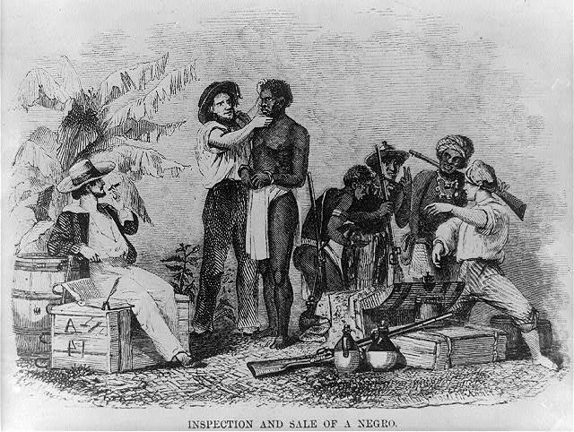 A escravização de africanos