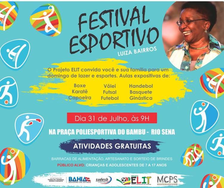 Festival Esportivo Luiza Bairros