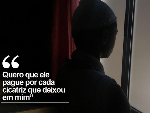 'Pedi a Deus para morrer', diz jovem torturada pelo ex por mais de um ano