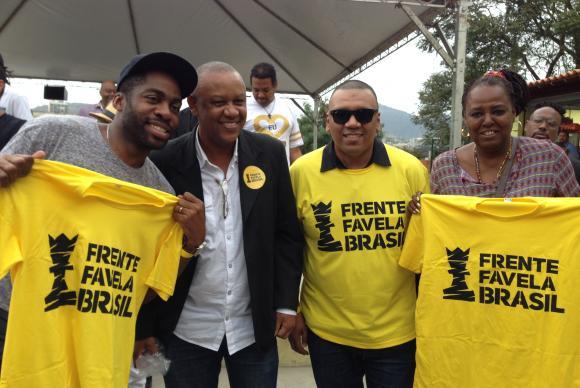 Movimentos negro e de periferia lançam partido Frente Favela Brasil