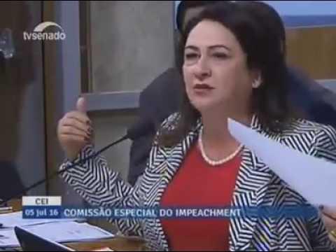 Kátia Abreu nocauteia golpistas: Da fraude do déficit de R$170 bi, 50 bi foram para garantir o impeachment; veja o vídeo