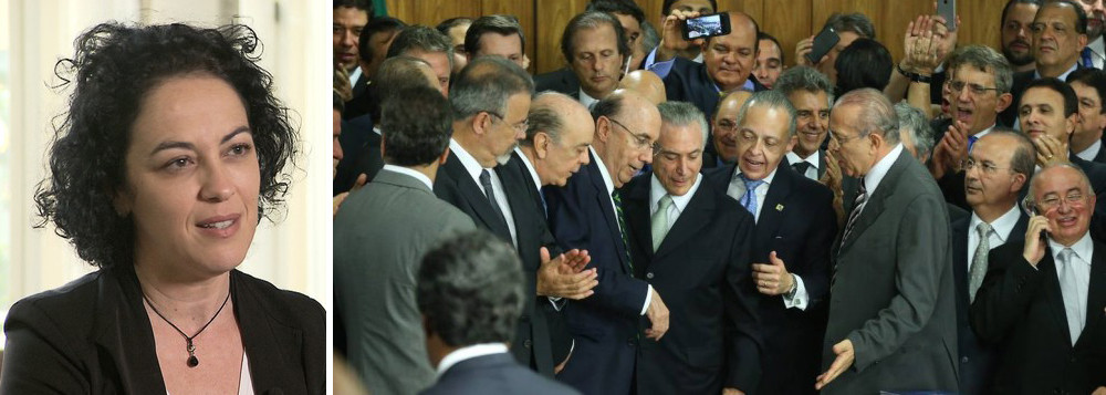 Marcia Tiburi: o Brasil não é mais uma democracia