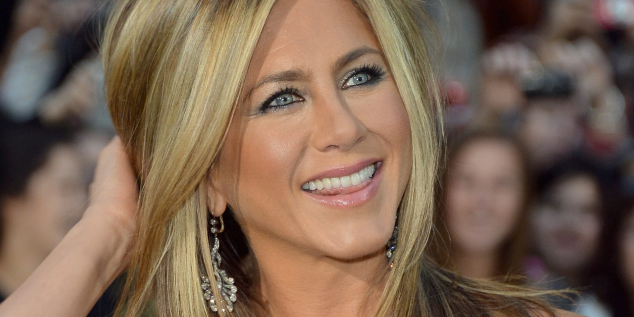 """TORONTO, ON - SEPTEMBER 14: Actress/producer Jennifer Aniston arrives at the """"Life Of Crime"""" Premiere during the 2013 Toronto International Film Festival at Roy Thomson Hall on September 14, 2013 in Toronto, Canada. (Photo by George Pimentel/WireImage)"""