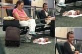 A imagem fora de contexto que revoltou internautas e prejudicou uma mãe