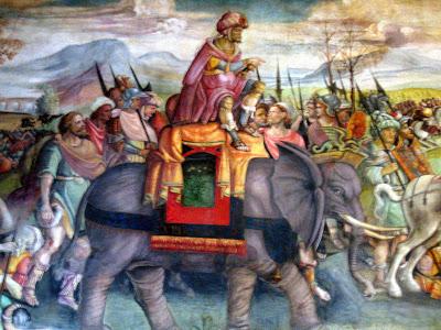 Hannibal Fresco Capitolinec 1510
