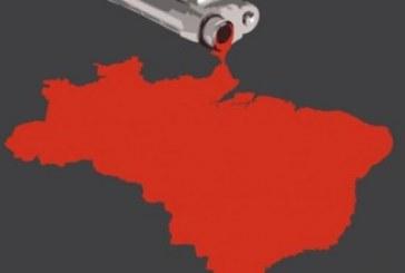 Brasil tem 6,5 homicídios por hora, 57 mil assassinatos registrados, aponta Mapa da Violência