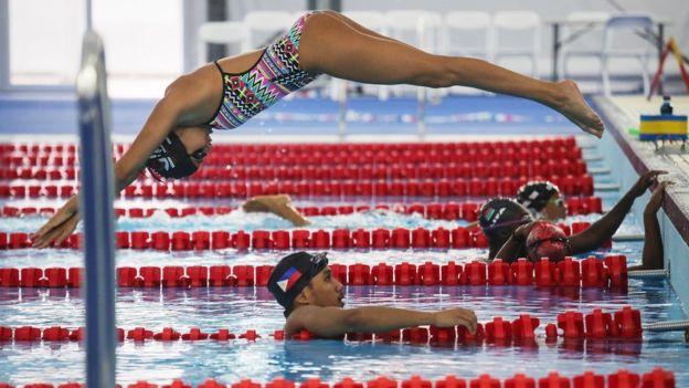 Nadadora Yusra Mardini é integrante do time dos refugiados na Olimpíada