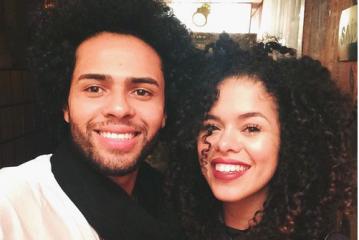 Rays Nicácio e Jefferson Soares são um casal fofíssimo e que dão dicas de como cuidar de cabelos