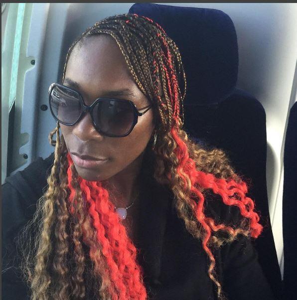 Venus Williams cabelo