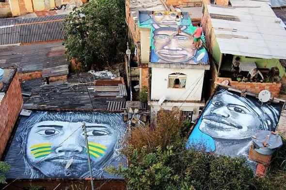 Artista cria novo modo de mostrar sua comunidade para o mundo