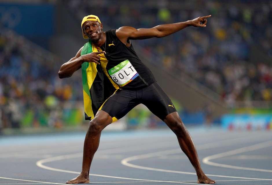 Raio cai também no Rio! Bolt é tricampeão olímpico nos 100m