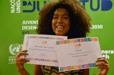 Lellêzinha, vocalista do Dream Team do Passinho é nomeada amiga do UNFPA para Juventude