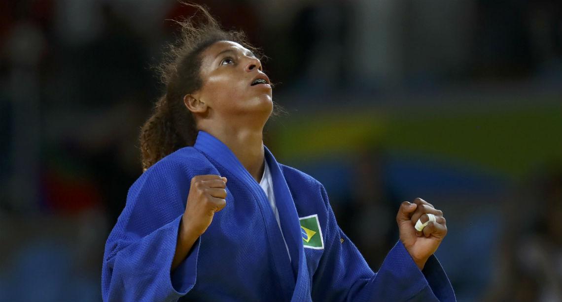 A vida de uma campeã olímpica: Rafaela Silva luta para não ser esquecida