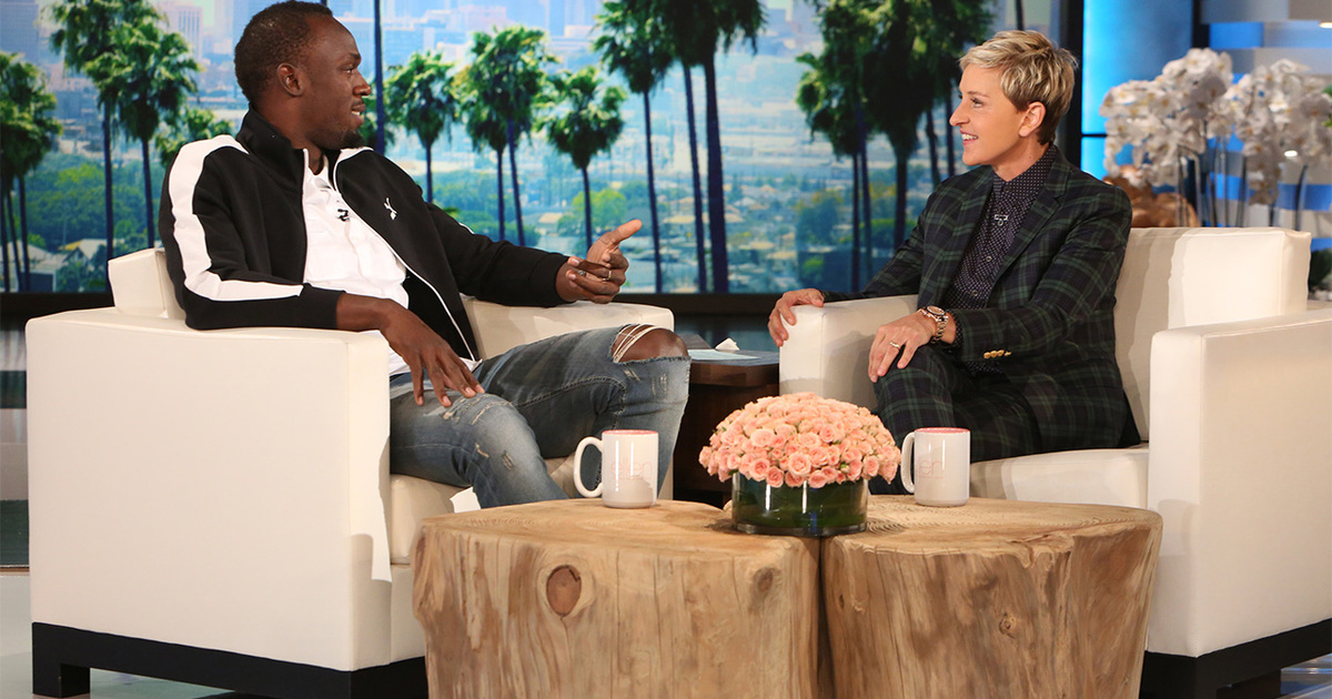 Ellen DeGeneres é acusada de racismo após postar foto com meme de Bolt
