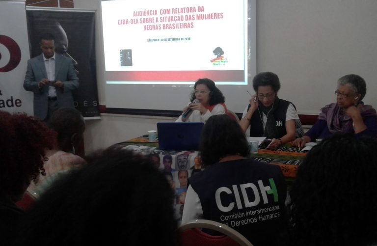 Racismo no Brasil choca relatora da OEA sobre direitos das mulheres e afrodescendentes