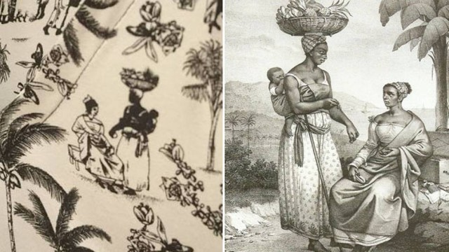 Estampa de escravos em coleção da Maria Filó foi alterada e não é de Debret, diz pesquisadora