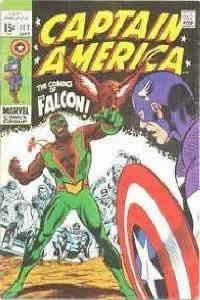 Captain America #117: a estréia do Falcão