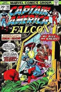 Captain America and Falcon #186: nova origem