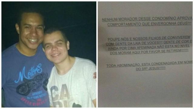 Carta homofóbica e racista enviada a casal gay será investigada pelo Ministério Público do Rio