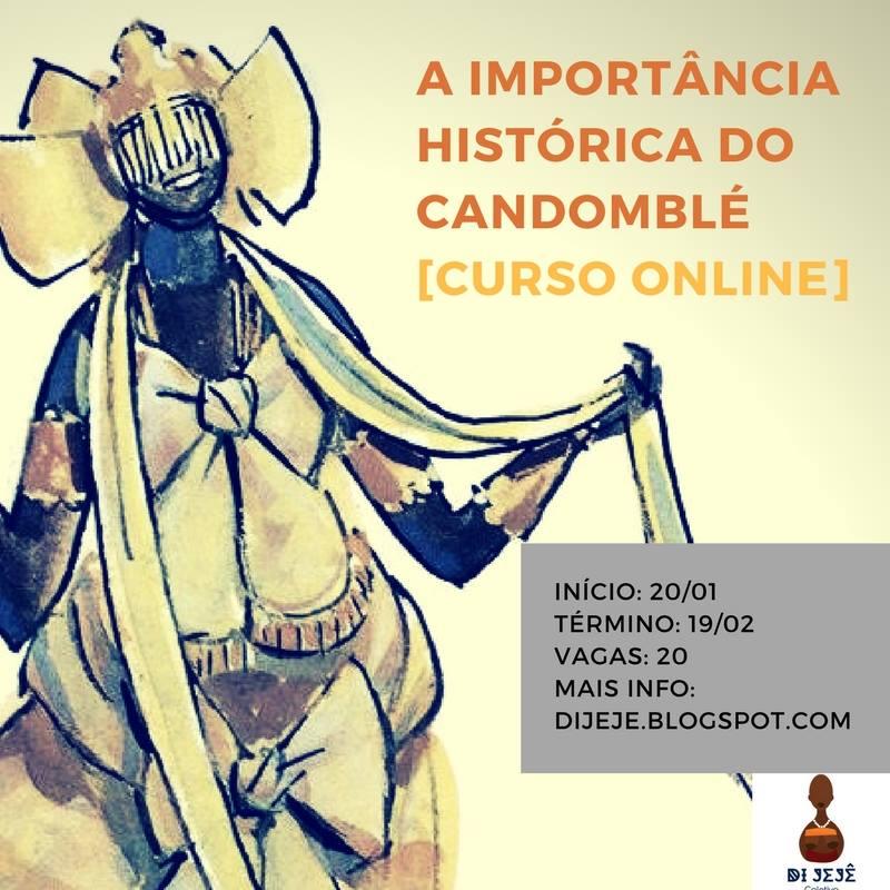 Curso online apresenta o Candomblé