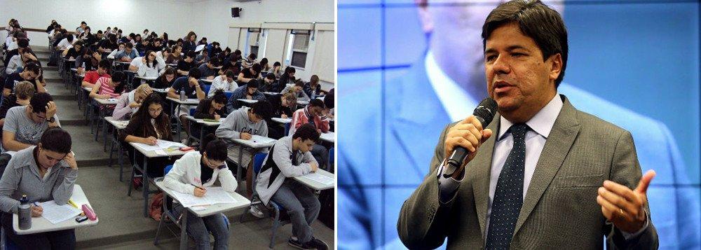 Enem não servirá mais como certificação do ensino médio, diz ministro