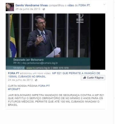 Médico que assinou laudo do João Victor tira perfil do Facebook depois de revelações da Fórum