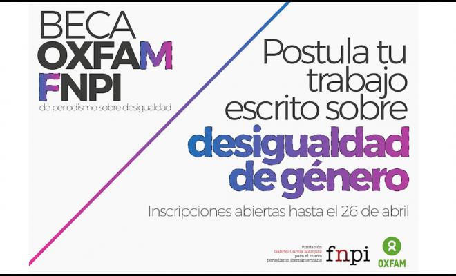 Oxfam e FNPI lançam bolsa de jornalismo sobre desigualdade
