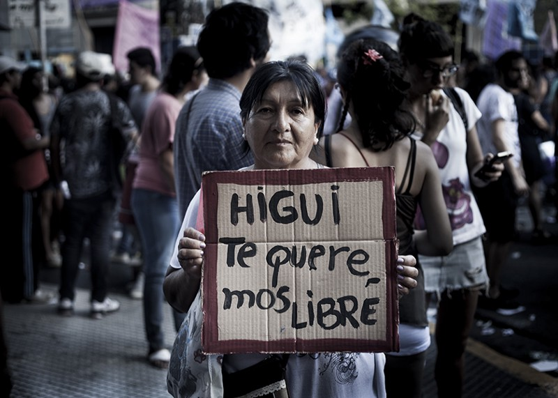 Higui: atacada por ser lésbica, presa por defender-se.