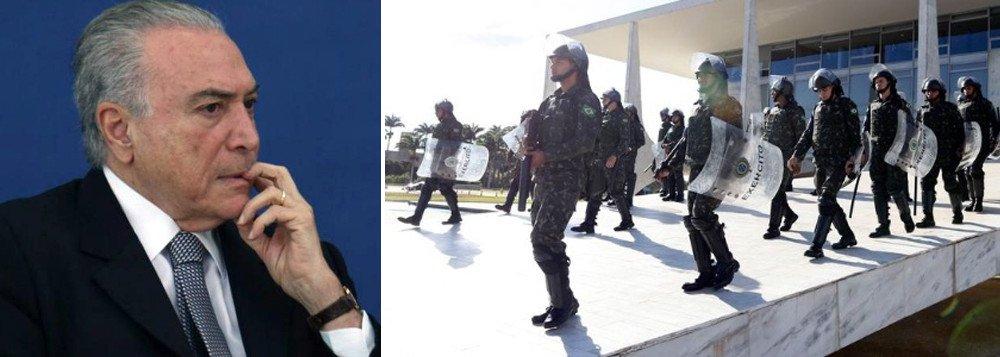 Acuado e sem apoio do Exército, Temer anula decreto ditatorial