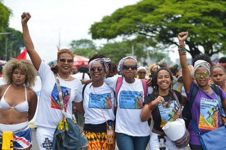 Em São Paulo, a Marcha das Mulheres Negras avança