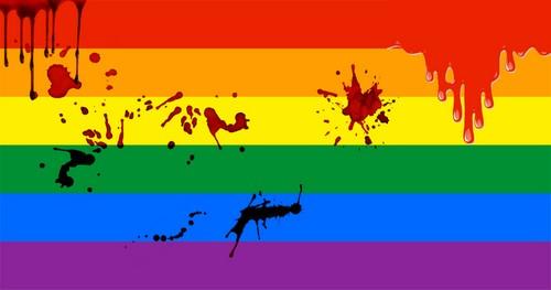 Parada Gay: do arco-íris ao vermelho-sangue