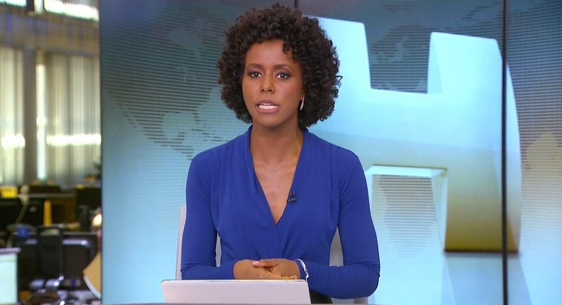 Queridinha dos internautas, Maju Coutinho estreia no 'Jornal Hoje' e ganha 'aplausos' das redes sociais