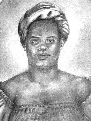 Maria Felipa comandou mulheres que conseguiram expulsar tropas portuguesas da Ilha de Itaparica (Imagem: Filomena Modesto Orge/Arquivo Público do Estado da Bahia)