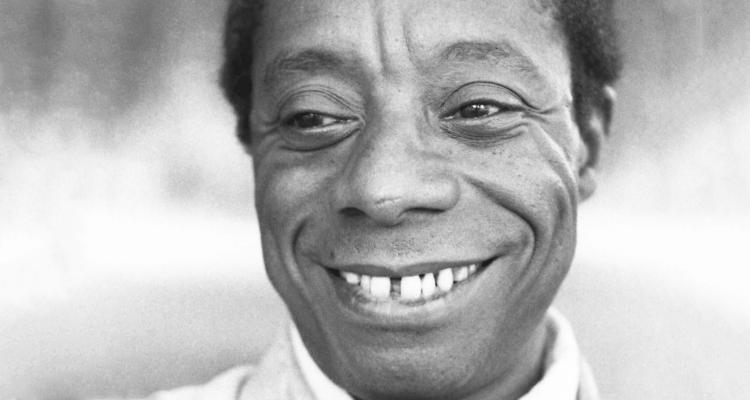 O autor James Baldwin (Foto: Allan Warren)