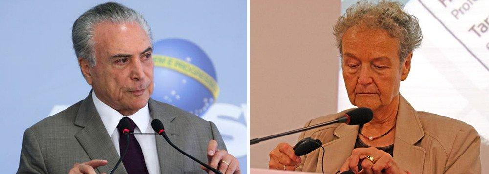 """Jurista alemã vê Temer no poder e lamenta: """"Brasil é outro mundo"""""""
