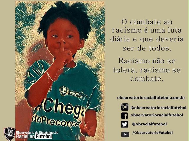 Maioria dos casos de racismo no futebol brasileiro ainda fica impune