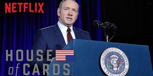 Netflix demite Kevin Spacey de 'House of Cards' após denúncias de assédio