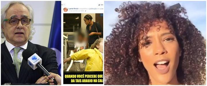 FNDC vai denunciar presidente da EBC por racismo contra Taís Araújo e filho
