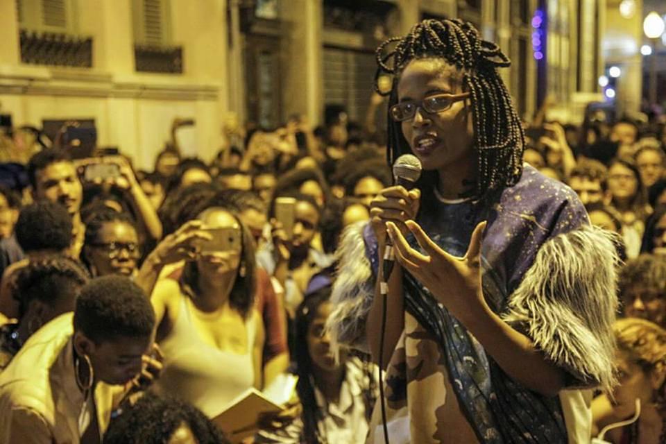 Djamila Ribeiro parou a Lapa