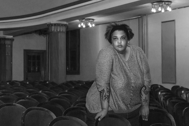 Roxane Gay em Montreal, em 2015 (Eva Blue / Flickr)