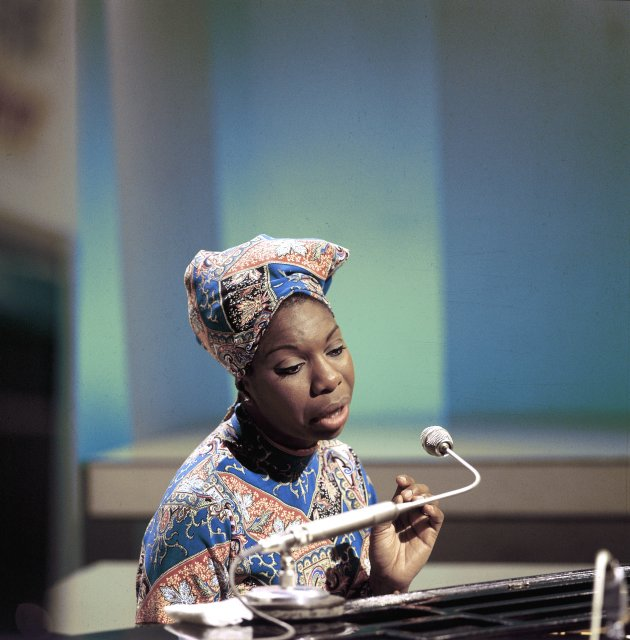 UNITED KINGDOM - JANUARY 01: BBC TV CENTRE Photo of Nina SIMONE (Photo by David Redfern/Redferns)