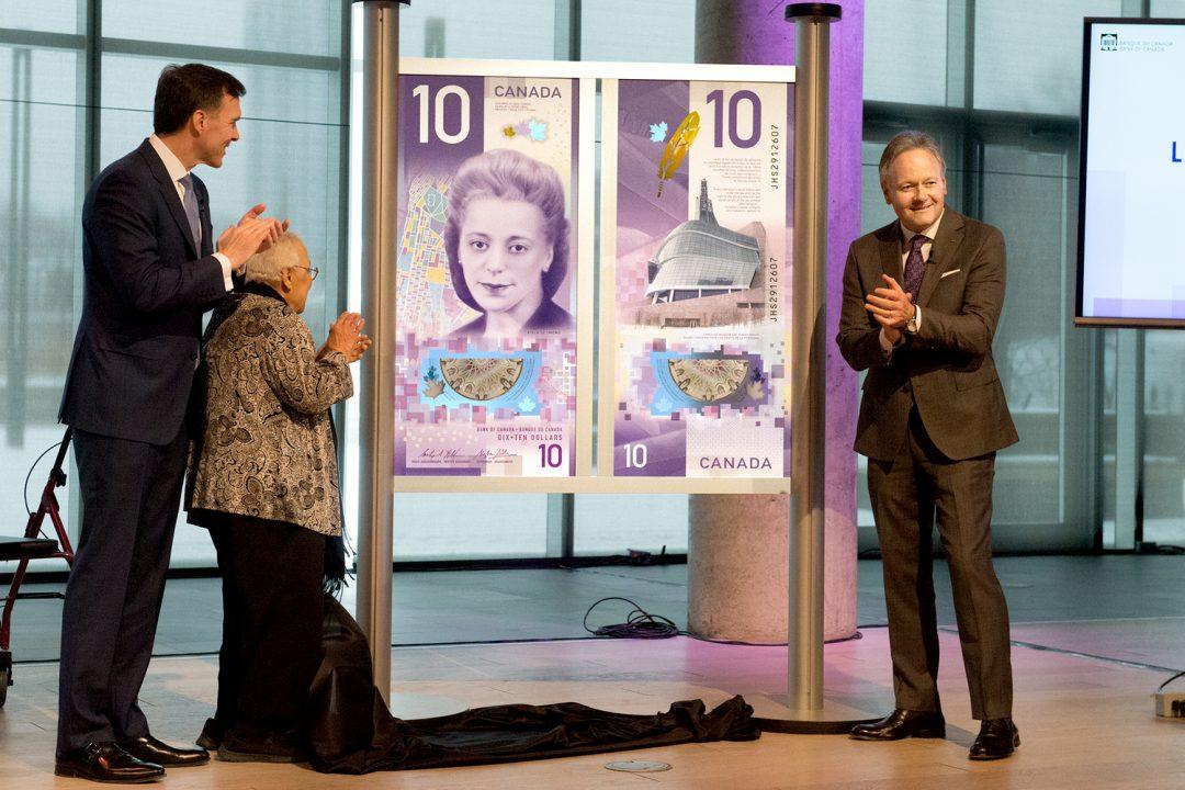 Ativista negra e Museu dos Direitos Humanos são celebrados na nova nota de 10 dólares canadenses