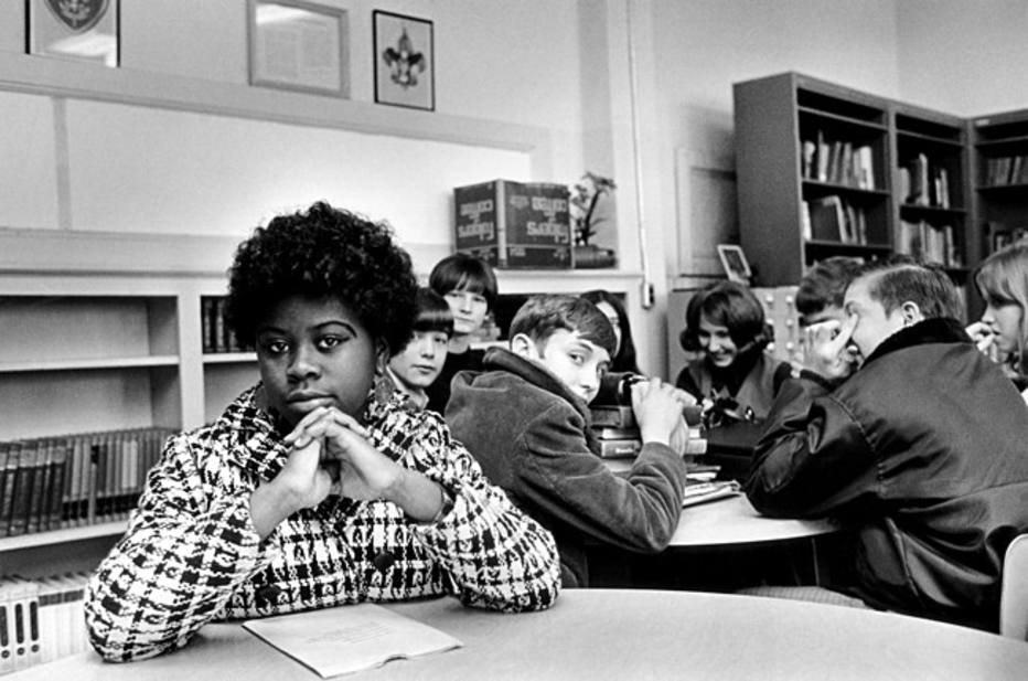 FILE - This undated file photo, location unknown, shows Linda Brown. Brown, the Kansas girl at the center of the 1954 U.S. Supreme Court ruling that struck down racial segregation in schools, has died at age 76. Peaceful Rest Funeral Chapel of Topeka confirmed that Linda Brown died Sunday, March 25, 2018. (AP Photo, File)
