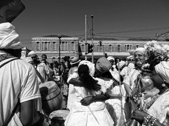 Manifestações culturais afro-brasileiras se encontram na 33ª Lavagem da Escadaria