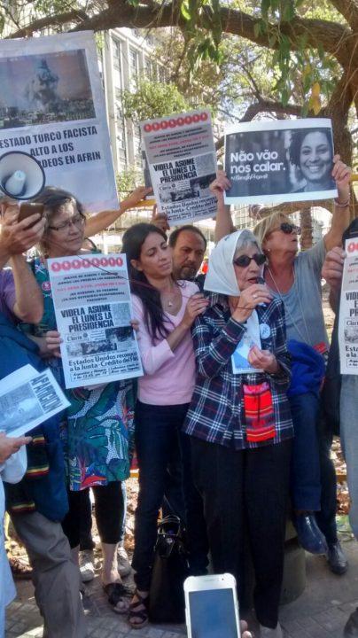 Na Argentina, Mães da Praça de Maio prestam homenagem a Marielle Franco
