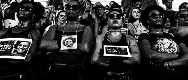 Corpos Negros Ainda Estão na Mira #LegadoMarielle