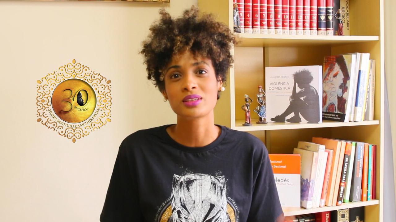 #Geledes30anos - Stephanie Ribeiro: